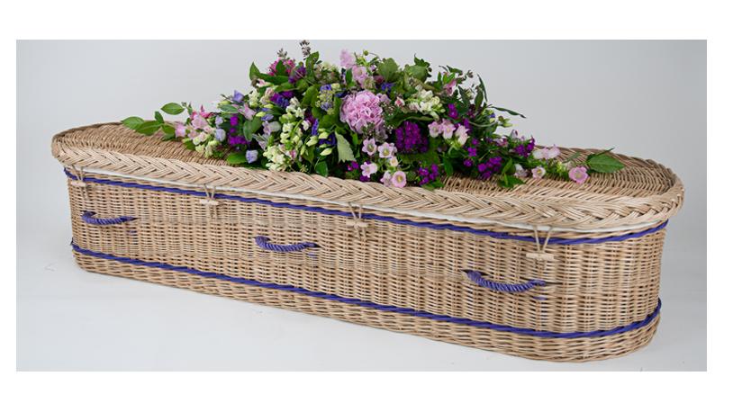 Create a bespoke somerset willow coffin
