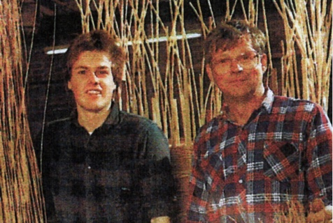 Darrell and Aubrey Hill in 1977