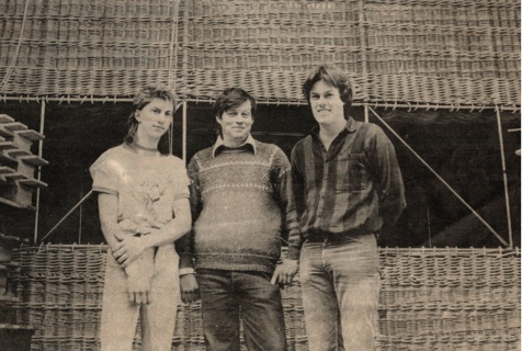 Somerset Willow Team who created the Worlds largest hot air balloon basket