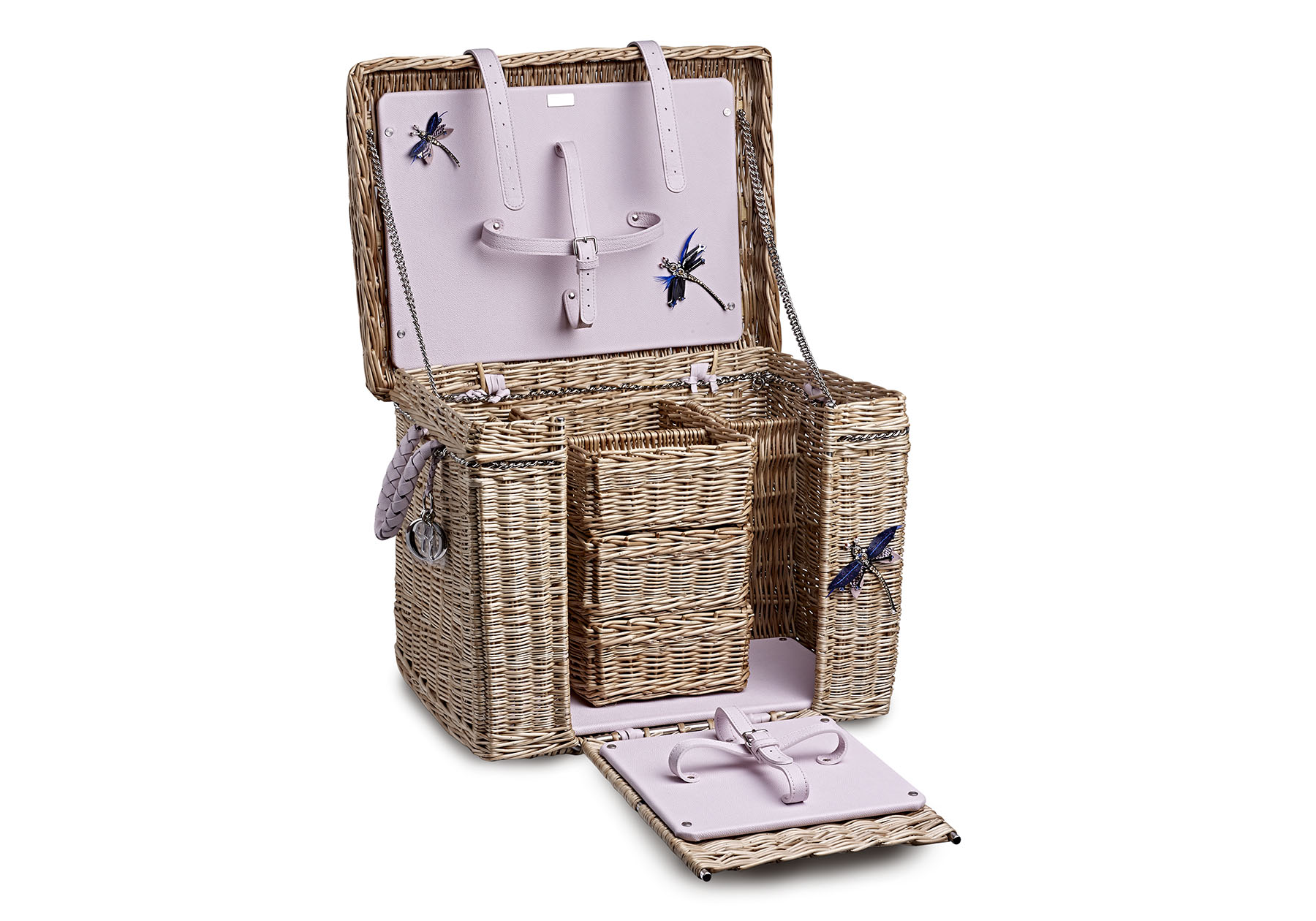 Somerset Willow Hamper Basket made for Dior