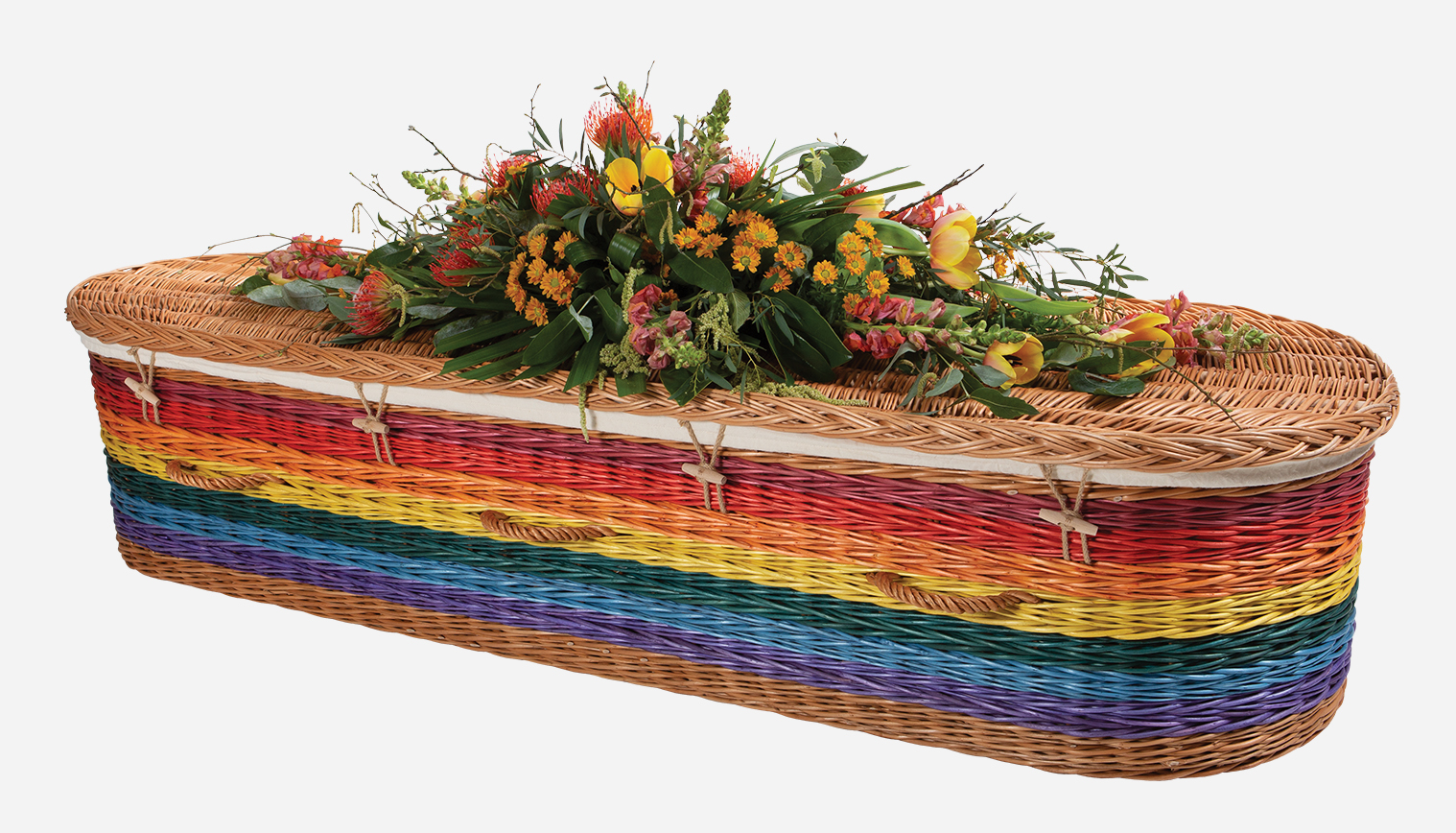 Coloured Willow Coffins