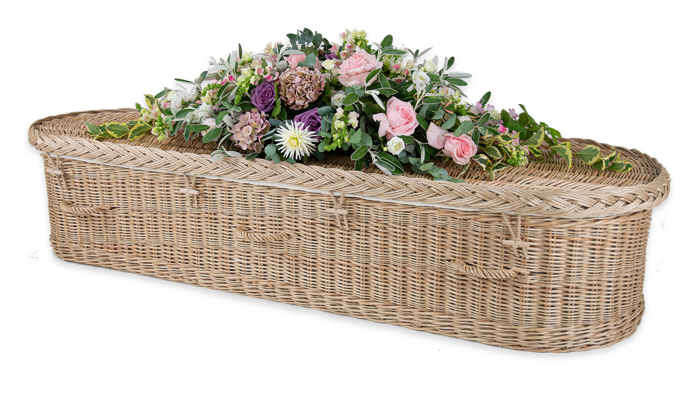 Curved Willow Coffins