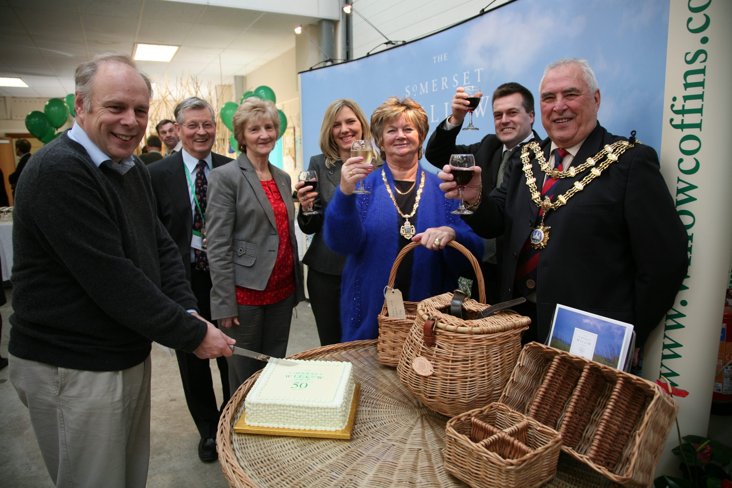 celebrations for Somerset Willow's 50th Anniversary