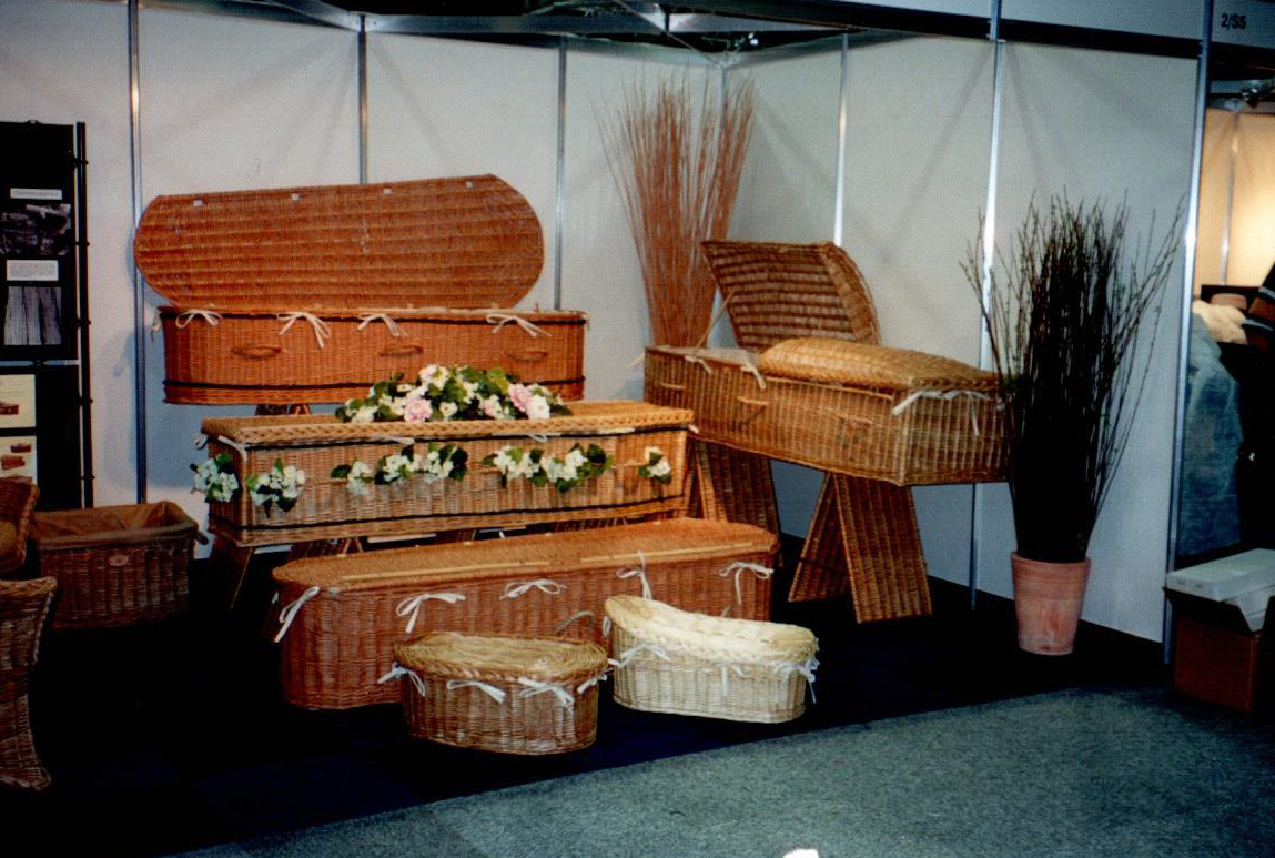 Somerset Willow exhibition stand at NFE 2003