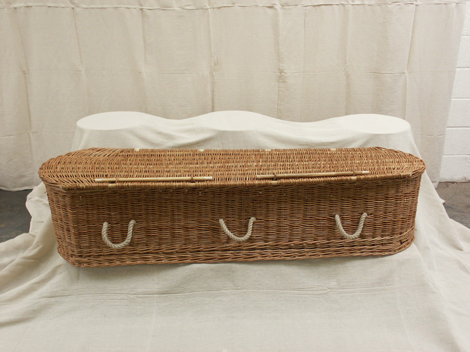 first ever willow coffin